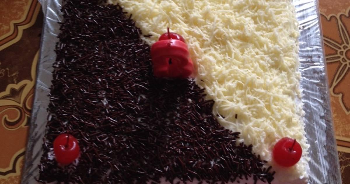 Resep Cake chiffon lemon