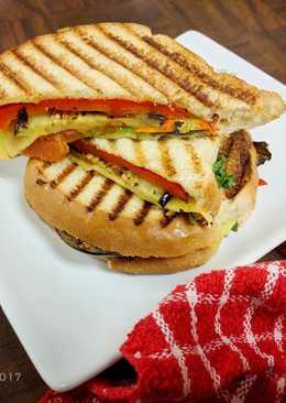 Vegetarian Sandwich ala Cafe