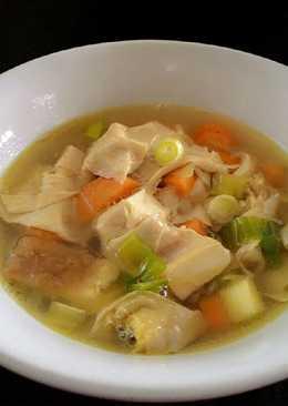 Soup kembang tahu favorit keluarga