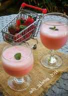Juice strawberry 🍓 pop ice 🍹🍹