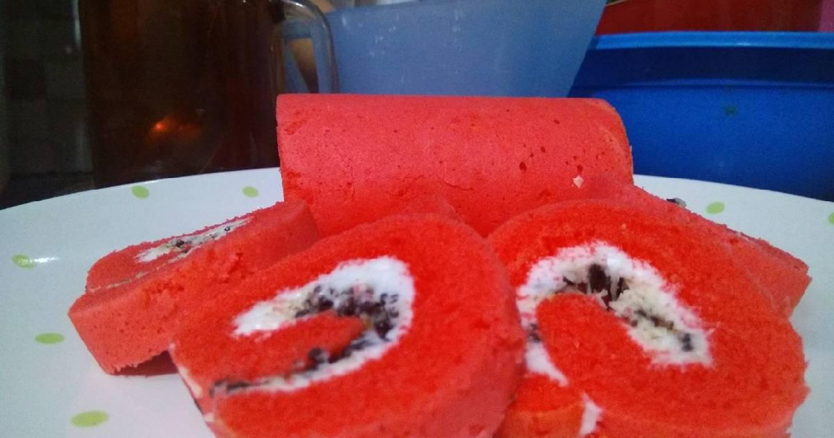 Resep Roll Cake Kukus Ekonomis: 531 Resep Bolu Kukus Gulung Enak Dan Sederhana