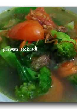 Sop brokoli wortel