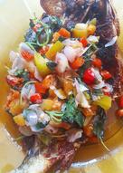 Ikan bandeng goreng sambal dabu-dabu 🐟