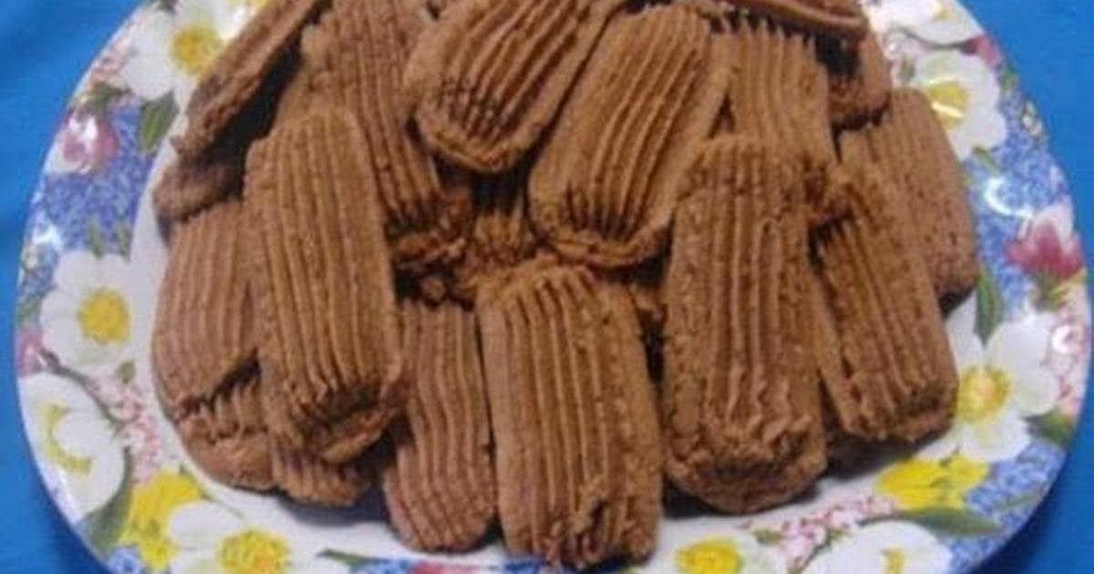 Resep Kue Semprit Susu Cokelat