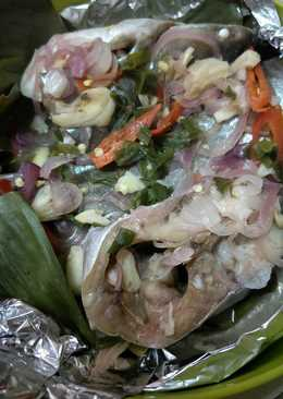 Pepes Ikan Patin (steam patin) Iwak Patin bapais simple