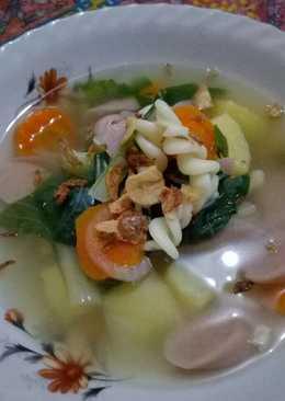 Sup Sosis Ayam