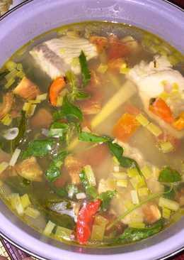 Sup Kakap Merah Simpel