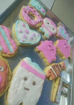 Cookies hias bentuk SQUISHY