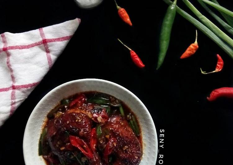 Kung pao chicken (paha ayam)