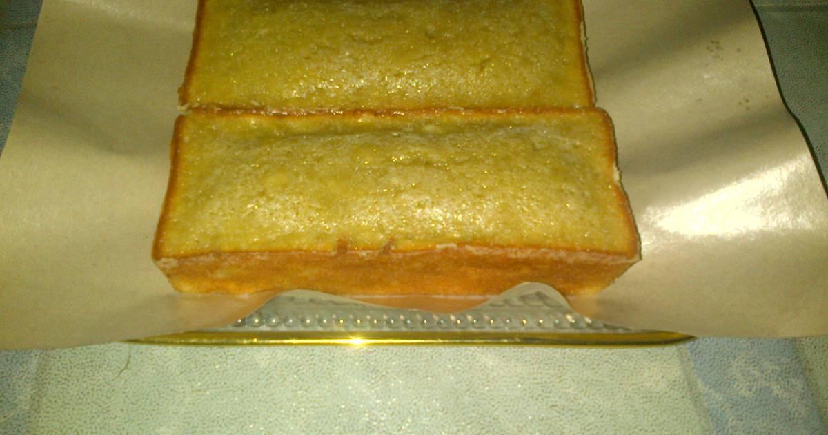 Resep Bolu pisang moist tanpa mixer (simpel dan bisa ditakar pakai sendok)