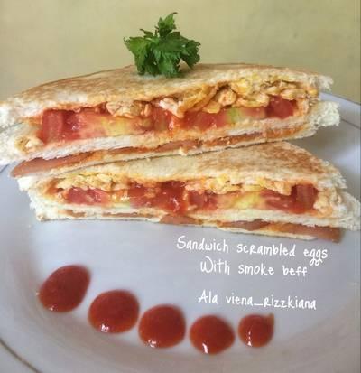 Sandwich telur #BikinRamadanBerkesan