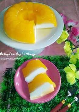 Puding Busa Pop Ice Mangga