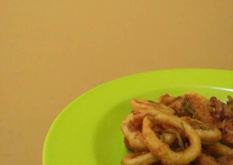 resep masakan Cumi goreng maknyus