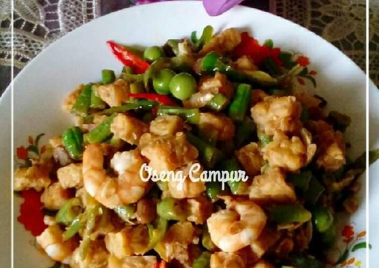 Resep Oseng Campur Kiriman dari dapoer_eladede