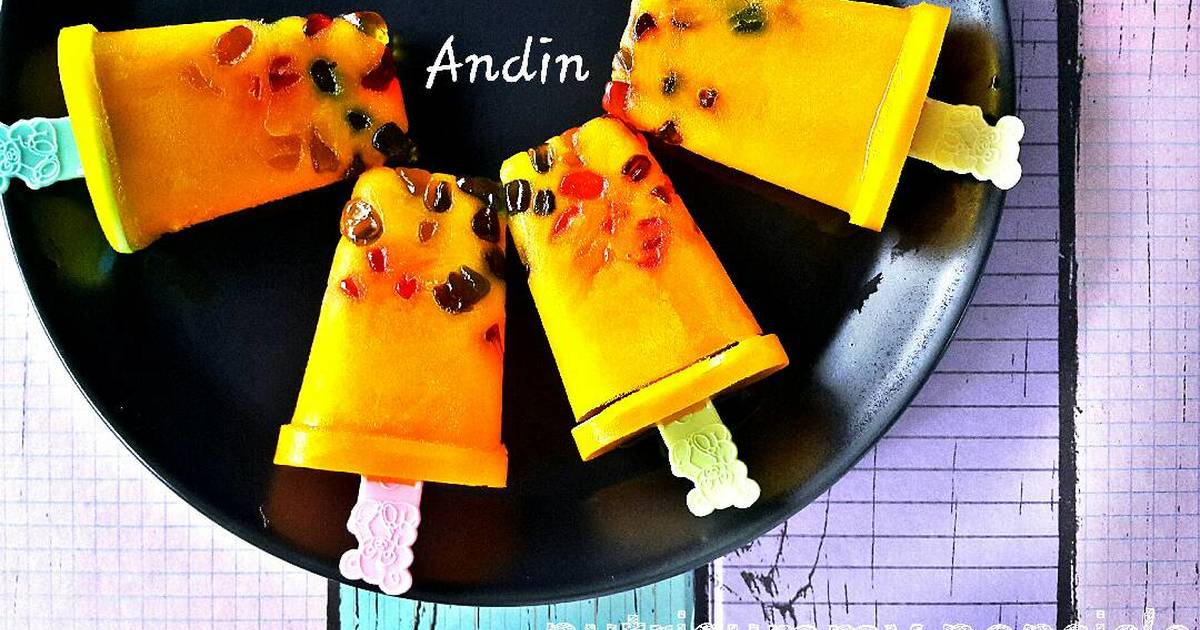 Resep Nutrigummy Popsicle