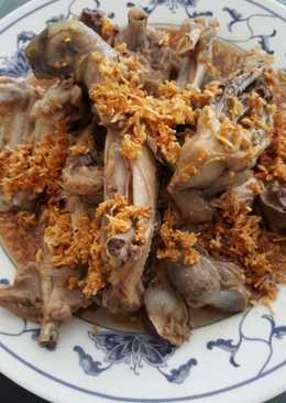Ayam rebus (pacamkeh)