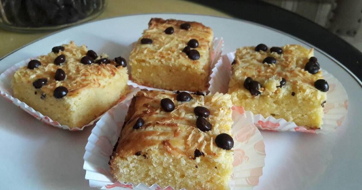 Resep Butter cake keju