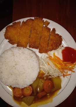 Chicken Katsu kuah Curry