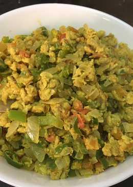 Orak Arik Telur (Egg Bhurji)