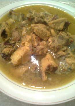 Ayam bakar curry pedaass