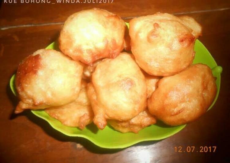 Resep Kue Bohong Roti Goreng Kiriman Dari Winda Kamil Masak Apa Hari Ini
