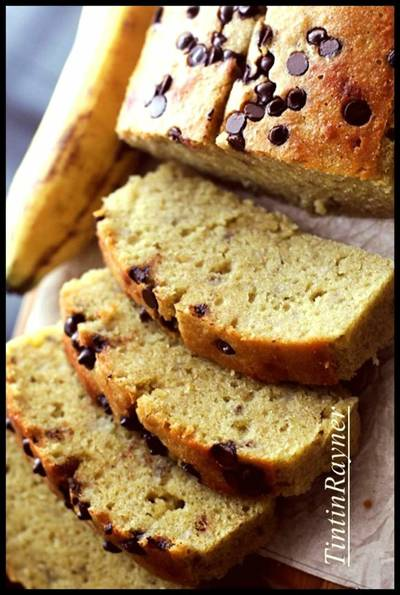 Banana Cake 5 Bahan aja Very Yummy