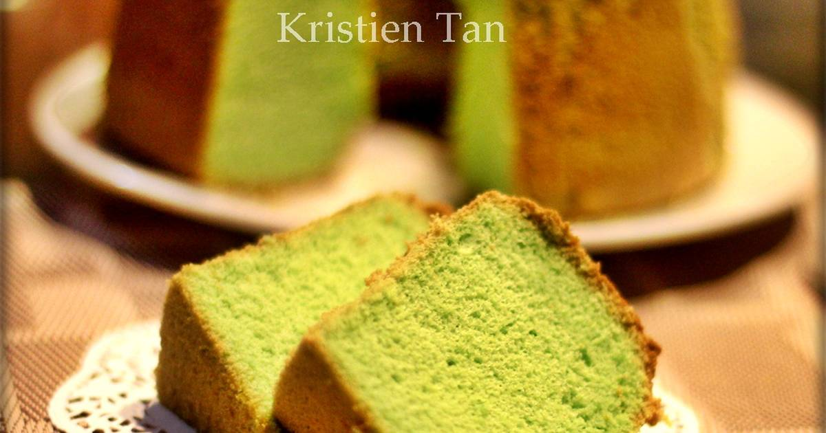 Resep Chiffon Pandan resep mommy ^_^ Soft&Pillowy
