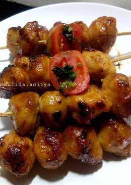5. Bakso Ayam Panggang Madu Teflon