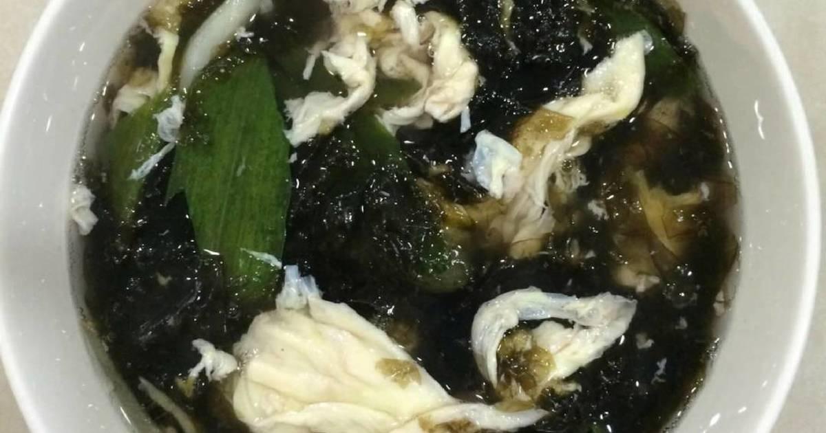 Resep Sup Rumput Laut Khas Korea Sedap
