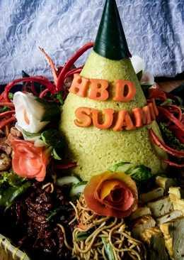 Resep nasi kuning dan tips tumpeng sederhana