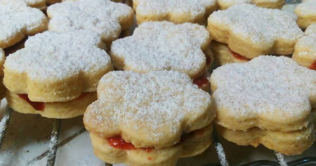 Resep Linzer Cookies