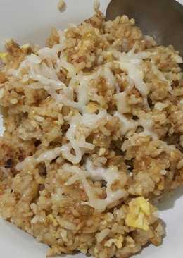 Nasi goreng saus tiram+keju mozarella