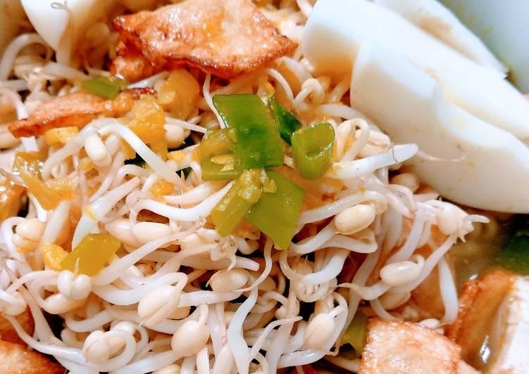 Soto-sotoan Tanpa Ayam/Daging