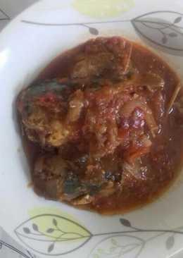 Ikan makarel bumbu tomat