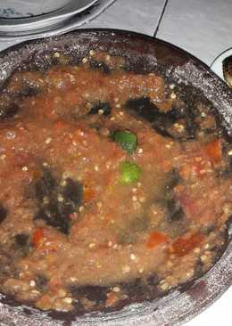 Sambel tomat mentah