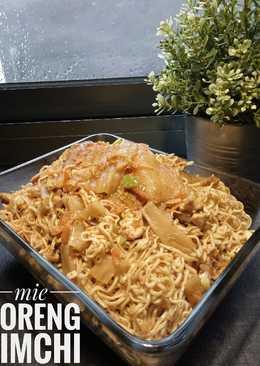 Mie goreng kimchi