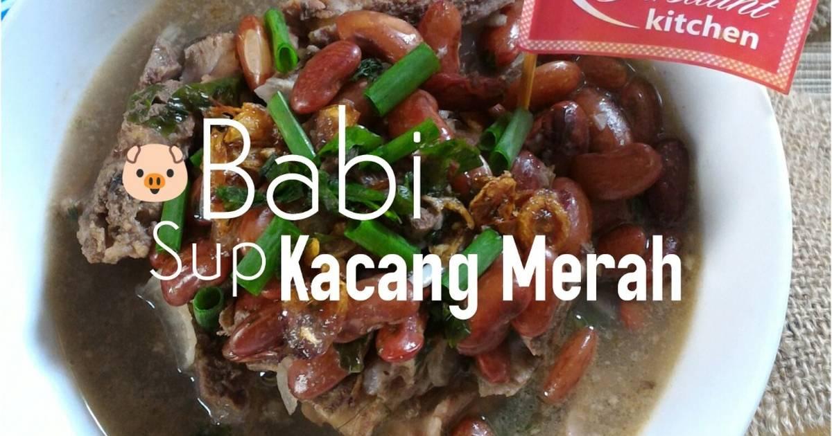 Resep Daging Babi Sup Kacang Merah Oleh Nancy Firstiants Kitchen Cookpad
