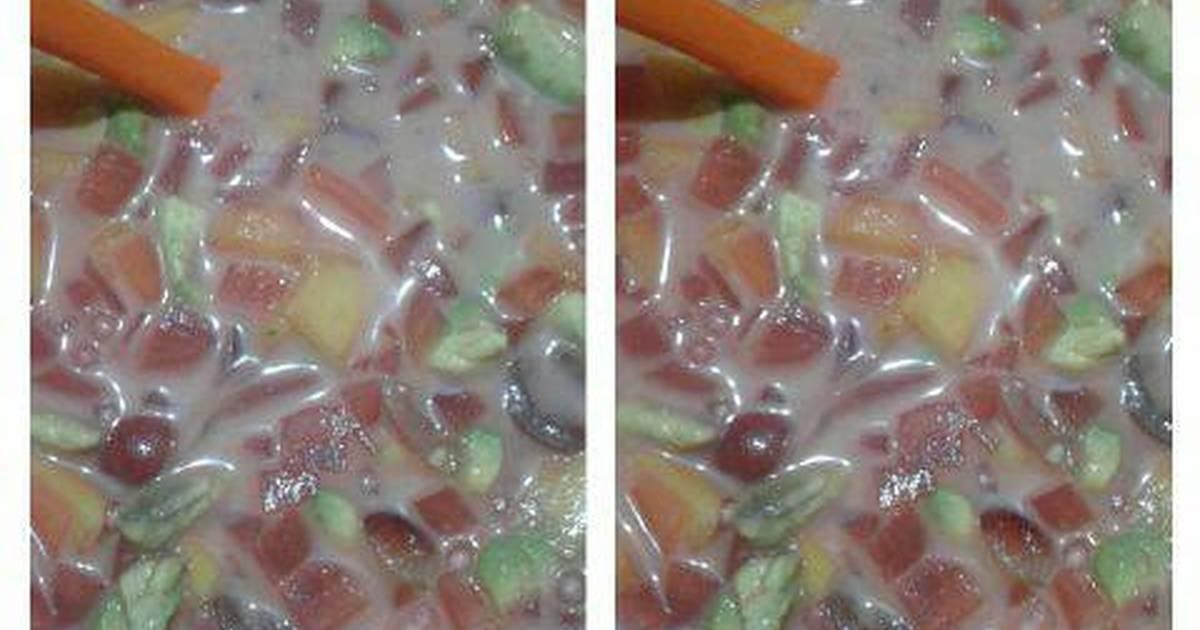 Resep Sop buah segar ala fatma miracle