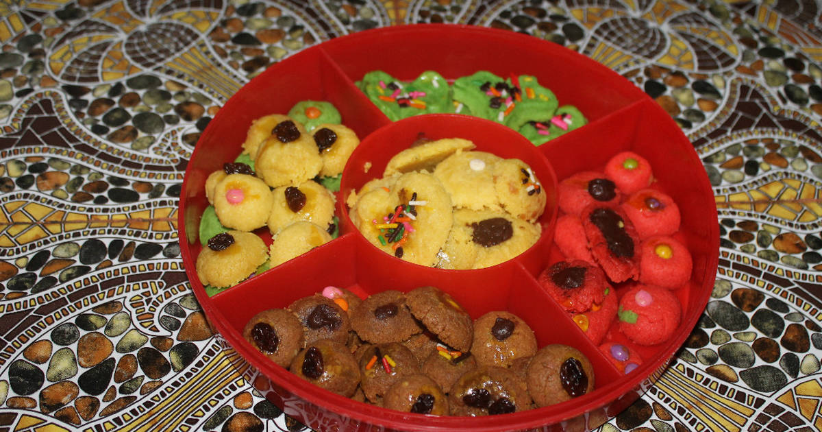 Resep Panda creation cookies