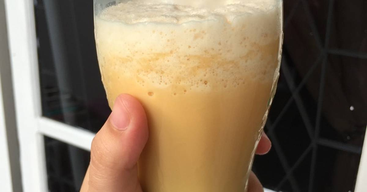 Resep Thai tea ice blanded