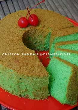 Chiffon Cake Tepung beras (gluten-free)