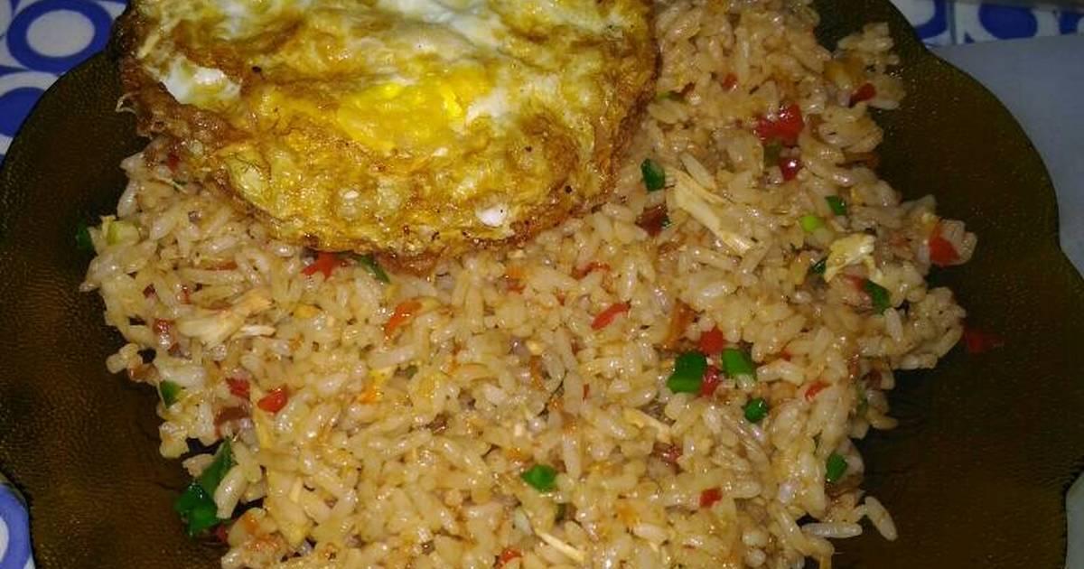 Resep Nasi Goreng Telur Ala Restoran - Dapur Kreasi