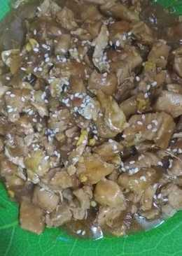 Chicken Teriyaki ala Hokben
