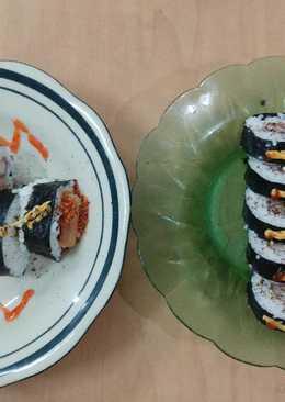 Sushi Roll Homemade Nasi Gulung