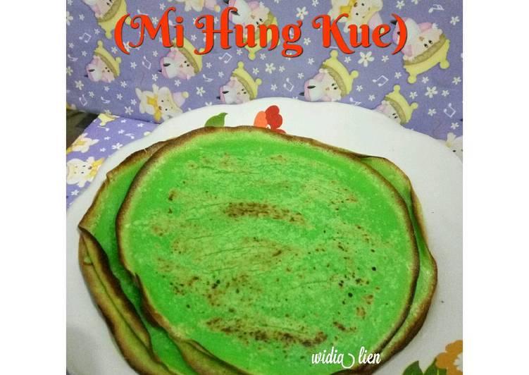 Kue Dadar Pandan (Mi Hung Kue)