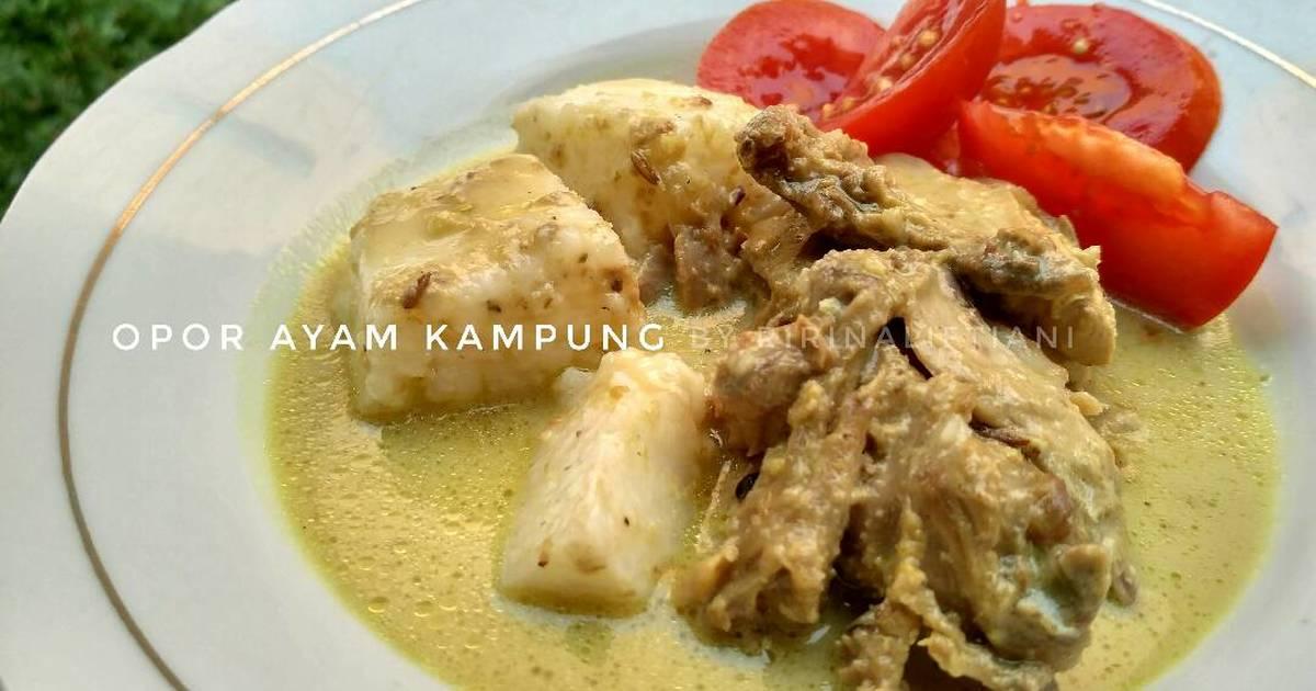resep Opor Ayam Jawa Kering yang Istimewa