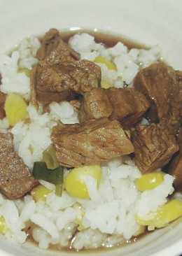 Sweet Corn Rice Mix White Anchovy