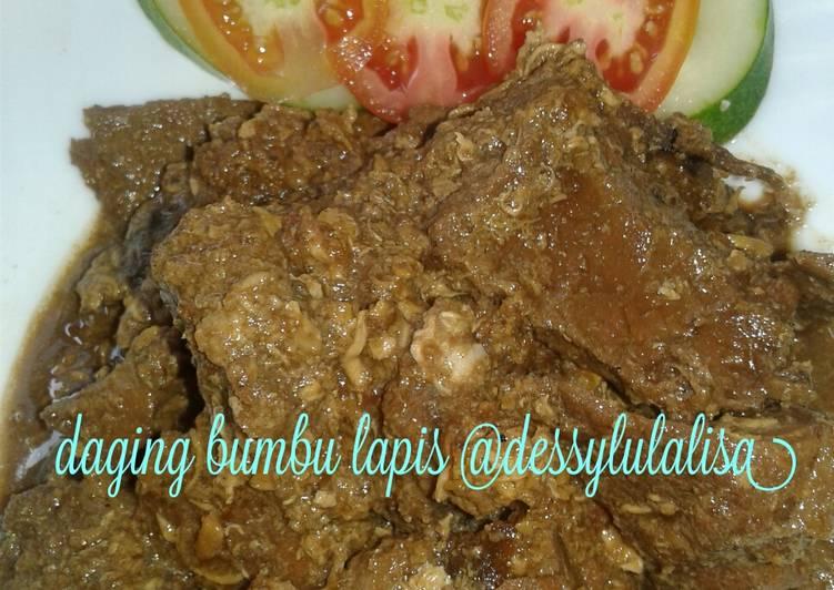 Daging bumbu lapis(menu anak) #bikinramadhanberkesan (9)