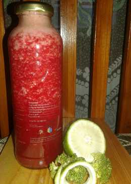 Red healthy Juice