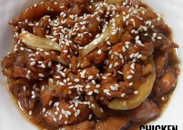 Chicken Teriyaki (Menu Sahur)
